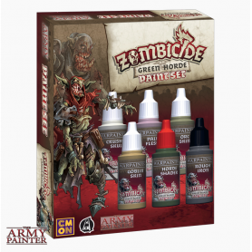 Warpaints Zombicide Green Horde Set