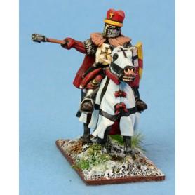 Evêque Teutonique à cheval