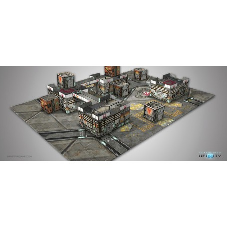 Kurage Station Scenery Pack, décors