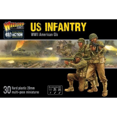 US Infantry, Americains