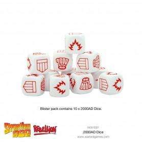 2000 AD combat dice, pour Strontium Dog, par Warlord Games