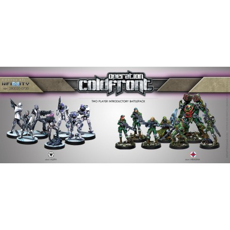 Opération Coldfront + figurine exclusive (Vf) (Vf), Infinity, par Corvus Belli
