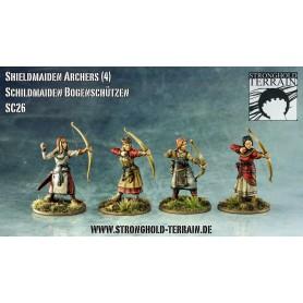 Archers shielmaidens