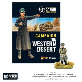 Western Desert Book with Special Miniature