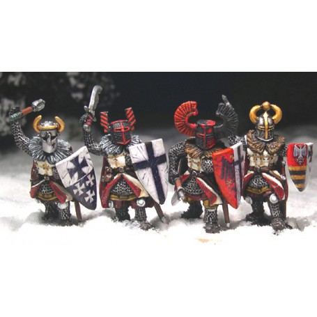 Teutonic Foot Knights (Hand Weapons)