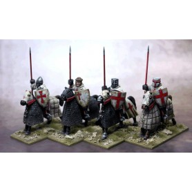 Military Order Knights Lance Upright