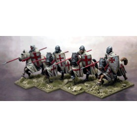 Military Order Knights Lance Couched