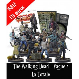 The Walking Dead : Vague 4 - La complete et tapis OFFERT