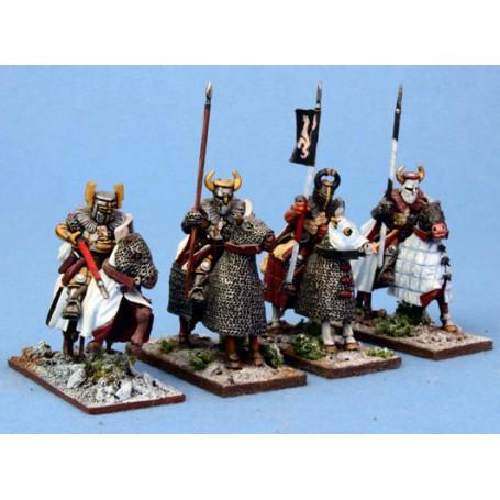Chevaliers Teutoniques à cheval