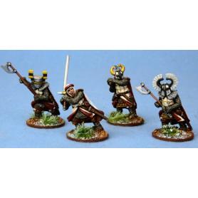 Gardes Teutoniques à pied (armes lourdes)