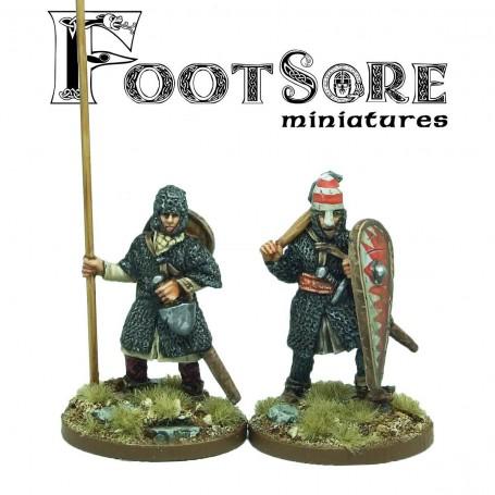 Norman Warlord and Bannerman foot
