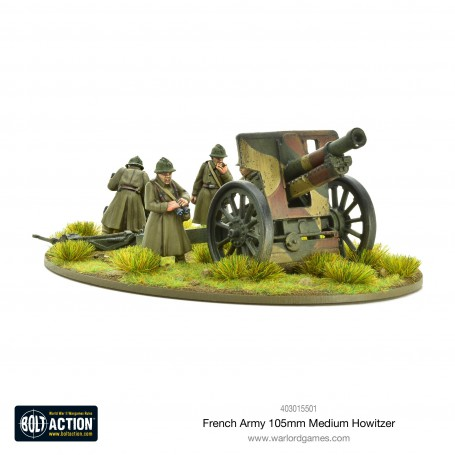 French Army 105mm medium howitzer