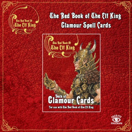 The Red Book of The Elf King Deck of Glamour Cards
