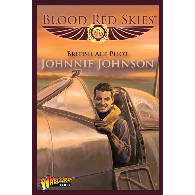 Blood Red Skies Johnny Johnson Spitfire Ace