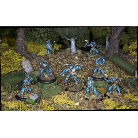 Achtung Cthulhu Miniatures - Deep Ones War Party unit pack