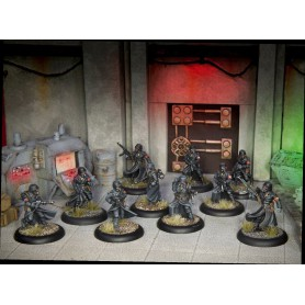 Achtung Cthulhu Miniatures - Black Sun Troopers unit pack