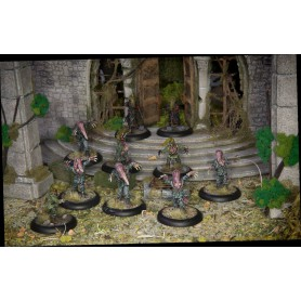 Achtung Cthulhu Miniatures - Servitors of Nyarlathotep unit pack
