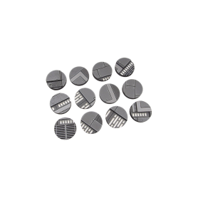 Star Wars Legion Space Station HDF bases 27mm Round