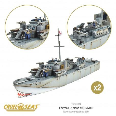 Fairmile D-class MGB/MTB