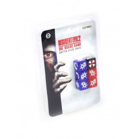 Resident Evil 2: The Board Game - Extra Dice Pack, pour Resident Evil, de Steamforged Games