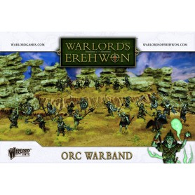 Orc Warband, pour le jeu Warlords of Erehwon de Warlord Games!