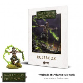 Warlords of Erehwon Rulebook avec figurine exclusive