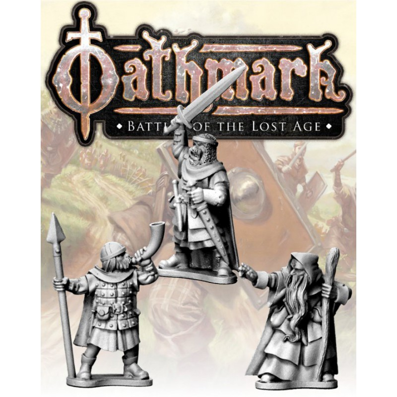Oathmark Human King, Wizard and Musician