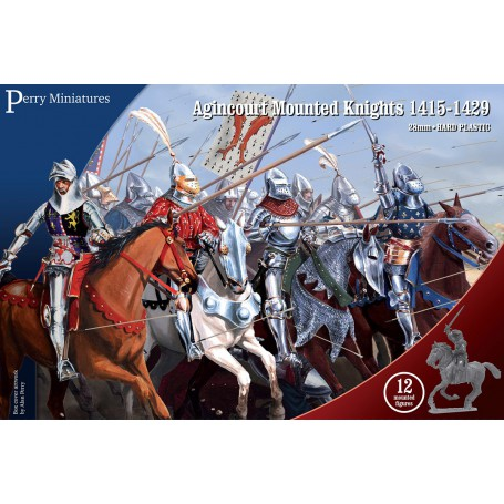 Azincourt Mounted Knights 1415-29 (12 figures),