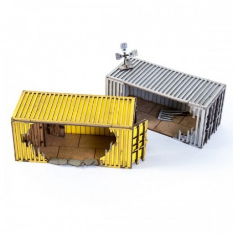 2X Damaged Containers A option 3