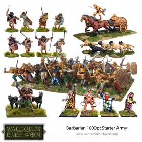 Barbarian 1000 Point Starter Army