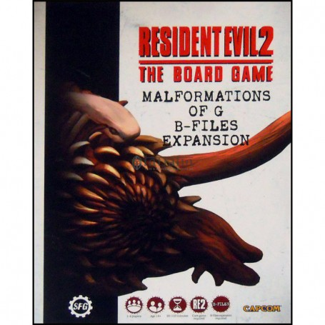 Resident Evil 2 : Malformations of G B-Files