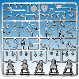 1x Grappe Frostgrave Soldiers
