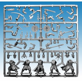 1x Grappe Frostgrave Barbarians