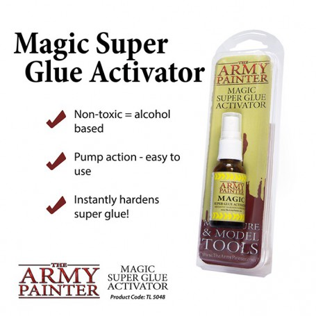 Magic Super Glue Activator (2019)