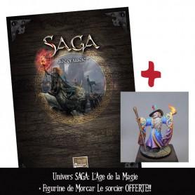 Univers Saga : l'Age de la Magie + figurine OFFERTE
