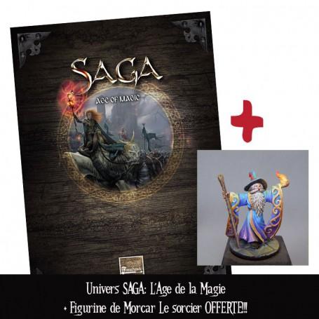 Univers Saga : l'Âge de la Magie + figurine OFFERTE