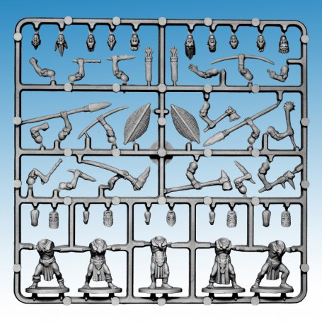 1x Grappe Frostgrave Tribals