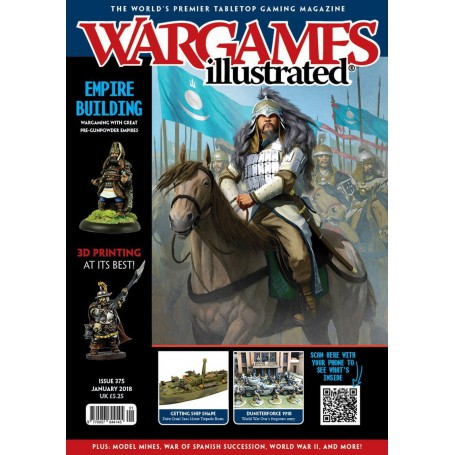 Wargames Illustrated January 2019 Edition (With FREE PT Boat)