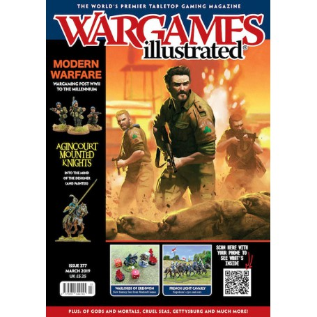 Wargames Illustrated March 2019 Edition (With FREE sprue)
