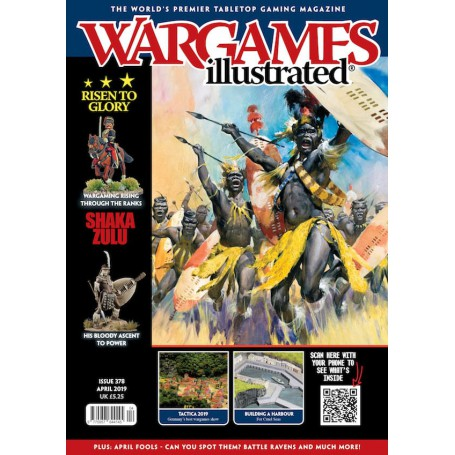 Wargames Illustrated April 2019 Edition (With FREE sprue)