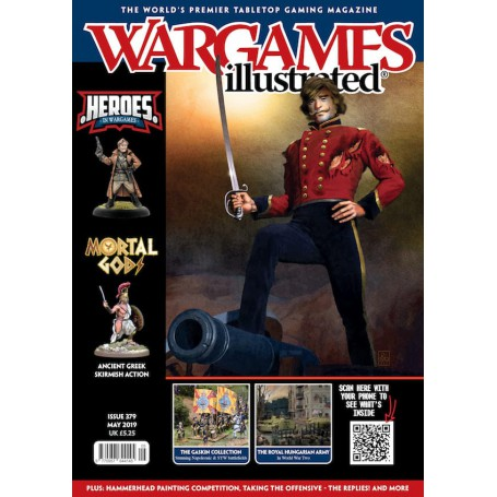 Wargames Illustrated May 2019 Edition (With FREE sprue)
