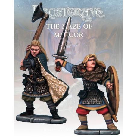 Frostgrave Knight & Templar 3