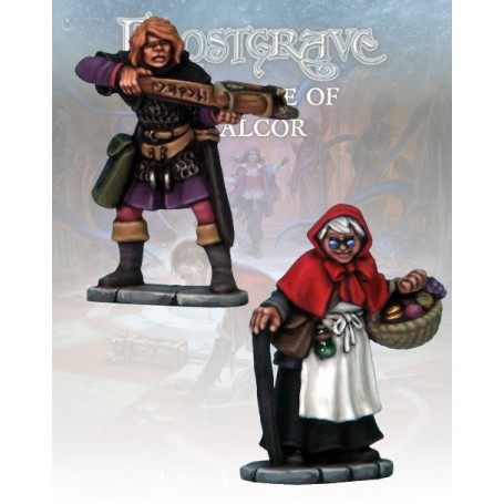 Frostgrave Apothecary & Markswoman 2
