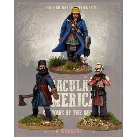 Dracula America: Mercenaires (3 figurines)