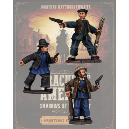 Dracula America: Ouvriers Chinois (3 figurines)