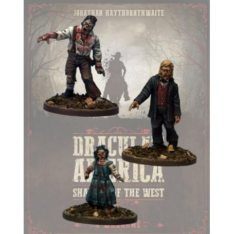 Dracula America: Citoyens morts-vivants (3 figurines)