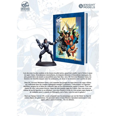 DC Universe Deluxe Rulebook + Superman exclusive V2