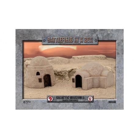 Galactic Warzones - Desert Buildings