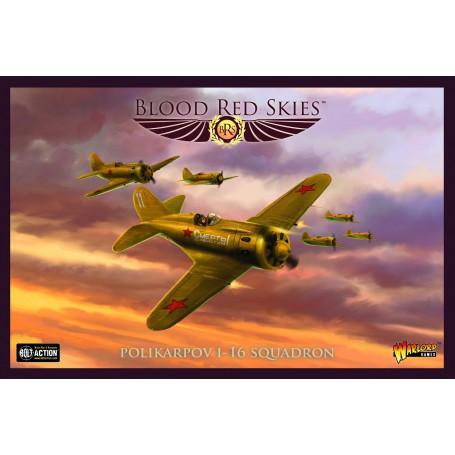 Blood Red Skies : Polikarpov I-16 Squadron