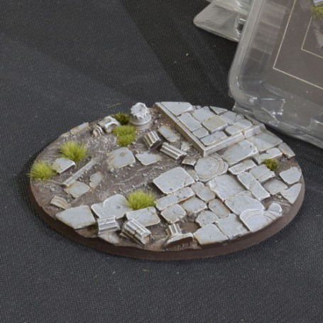 Temple Bases Oval 120mm
